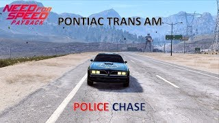 PONTIAC TRANS AM POLICE CHASE NFS PAYBACK (SMOKEY AND THE BANDIT)