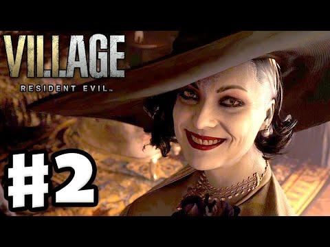Resident Evil Village - Gameplay Walkthrough Part 2 - Lady Dimitrescu! (Resident Evil 8)