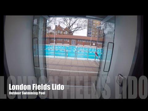 VLOG #6 LONDON FIELDS LIDO - OUTDOOR SWIMMING IN WINTER