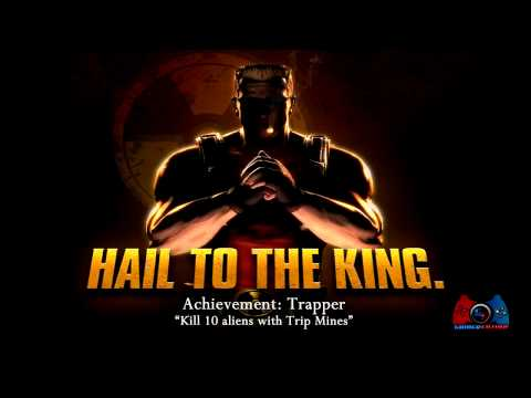 Duke Nukem Forever Trapper Achievement n Trophy Guide XBOX 360, PS3, PC