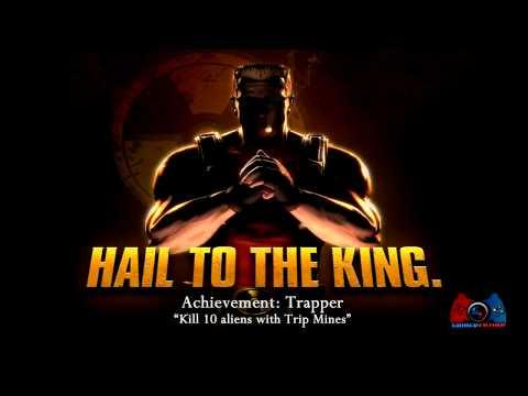 Duke Nukem Forever Trapper Achievement n Trophy Guide XBOX 360, PS3, PC