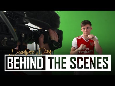Transfer Deadline Day Special   Tierney & David Luiz sign for Arsenal   Behind the scenes