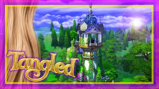The Sims 4 Speed Build - Rapunzel's Tower