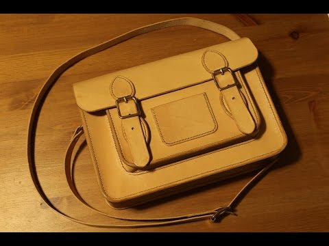 Making a Leather Classic Satchel