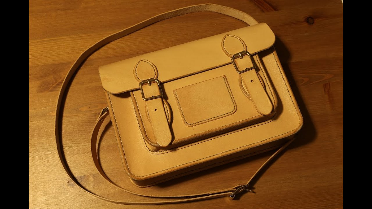 Making a Leather Classic Satchel - YouTube