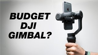 Best Budget Smartphone Gimbal? — DJI Osmo Mobile 2 First Look