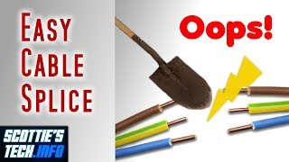 Easy waterproof Cable and Wire Splice