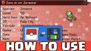 11 10 PKSM FULL GUIDE How to use PKSM PkHex without PC 3Ds Tutorial 03