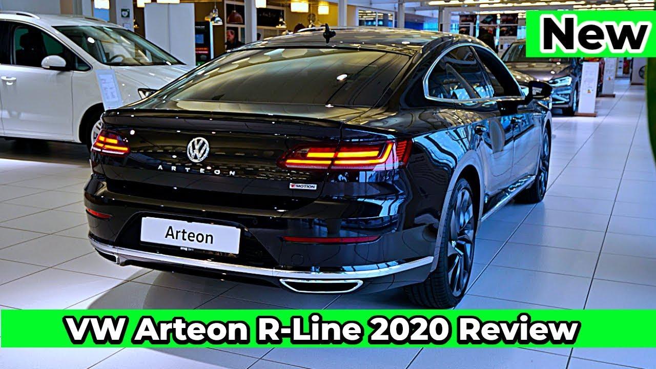 New Vw Arteon R Line 2020 Interior Exterior Youtube