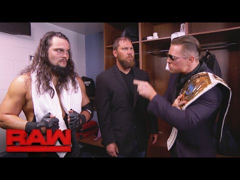 The Miz has a proposition for Curtis Axel and Bo Dallas: Raw, June 19, 2017