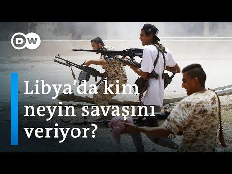 """Libya'daki iç savaşın aktörleri I """"Siyasal İslam"""" ve """"militarist milliyetçi"""" cephe - DW Türkçe"""