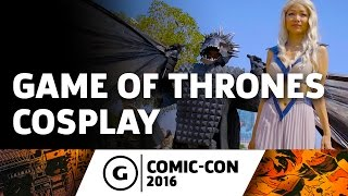 Game of Thrones Cosplay at Comic-Con 2016