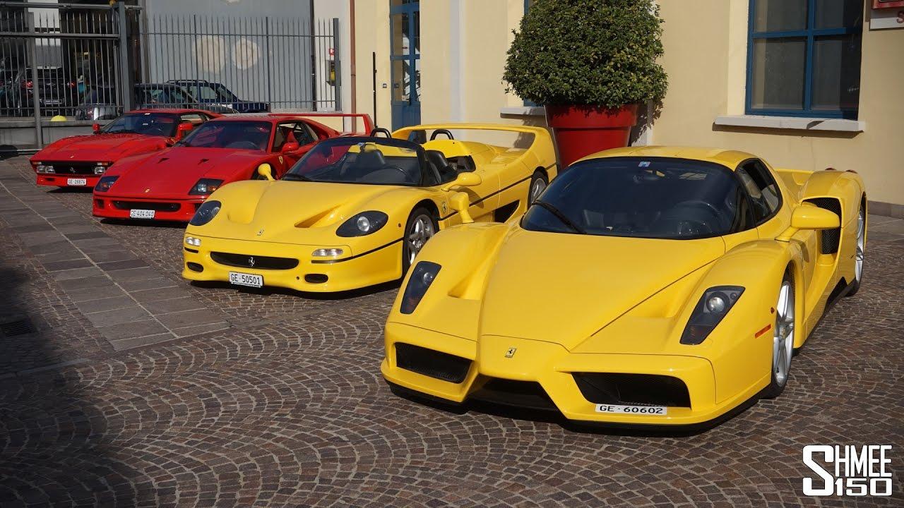 Ferrari Dream Drive 288 Gto Vs F40 Vs F50 Vs Enzo Youtube