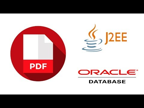 Upload and Retrieve PDF Files in oracle database using JSP , Servlet and JDBC