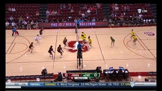 Cover images Oregon v Minnesota, 9/07/2018, Women's Volleyball