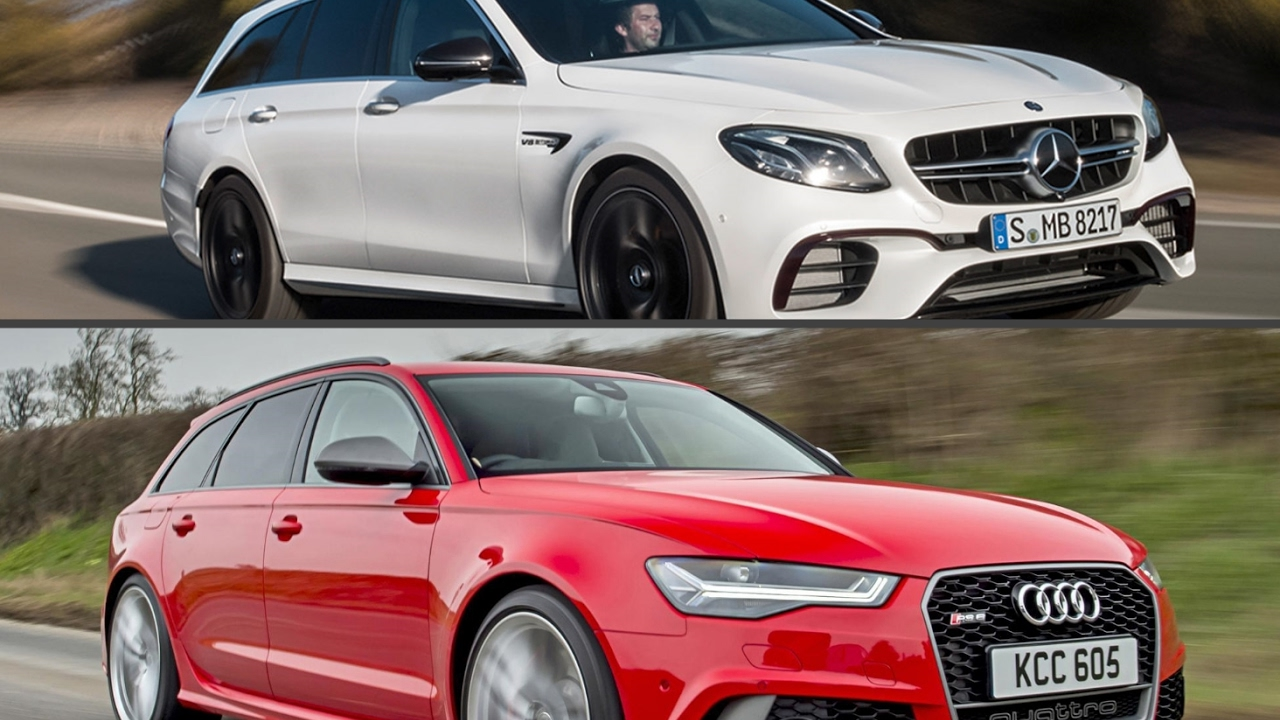 2018 Mercedes-AMG E63 S Wagon vs. Audi RS6 Avant - YouTube