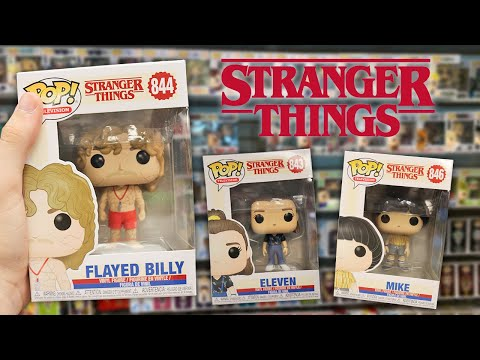 Stranger Things Season 3 Spoilers Funko Pop Hunting