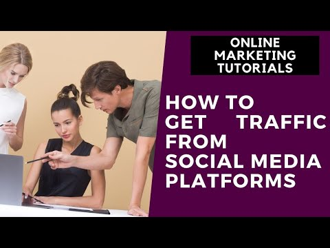 Online Marketing Tutorial For Beginners Part  8   How to Get Traffic  From Social Media Platforms thumbnail