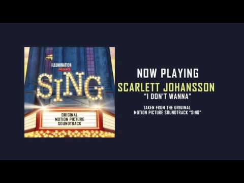 "Scarlett Johansson – ""I Don't Wanna"" (Audio)"
