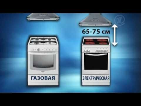 0 - Як встановити витяжку над газовою плитою?