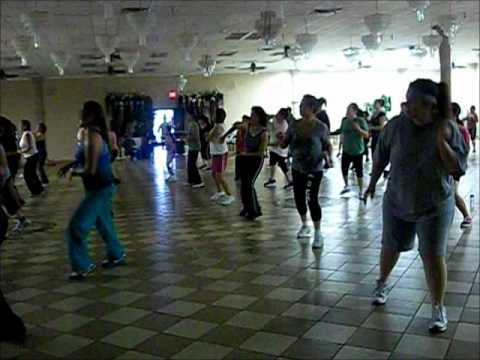 zumba instructora angelina aleman youtube