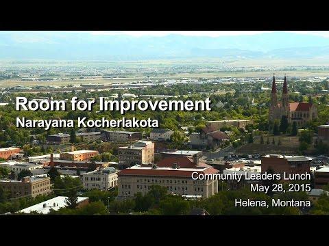 """Kocherlakota - """"Room for Improvement"""""""