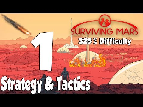 Surviving Mars Strategy & Tactics 325% Difficulty 1: What to bring on the 1st rocket.