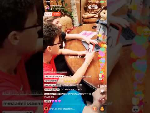 RYH LIVELY part 2 - Hayden Summerall and Annie LeBlanc Facetime!