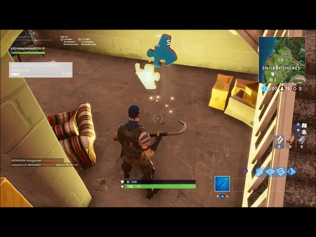 Fortnite Jigsaw Puzzle Piece Locations Week 10 Challenge