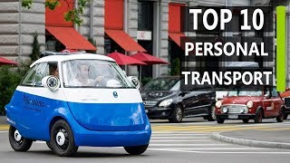 Top 10 Coolest Electric Personal Transport Innovations