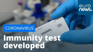 French company creates 15-minutes test for COVID-19 immunities