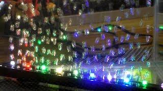 lED РАСПЫЛИТЕЛЬ XILONG - цветные пузыри) в аквариуме