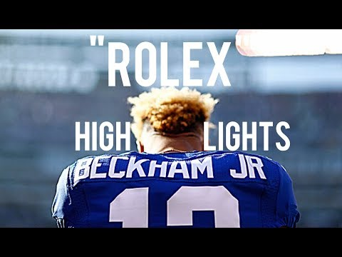 """Odell Beckham Jr. NFL Highlights """"Rolex"""""""