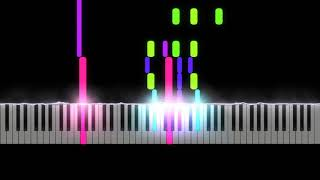 The Ascent of Stan - Ben Folds - Piano Instrumental - Visualized