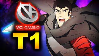 T1 vs VICI GAMING - TI10 PLAYOFFS SEA vs CHINA - THE INTERNATIONAL 10 DOTA 2
