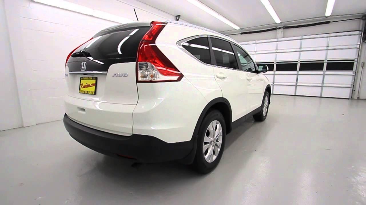 2013 Honda Cr V Ex L Awd White Diamond Pearl Stk Dl074857