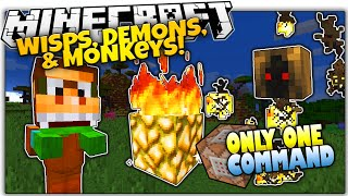 MORE NEW MOBS IN VANILLA MINECRAFT! | NO Mods | Only One Command (Minecraft Vanilla Mod)