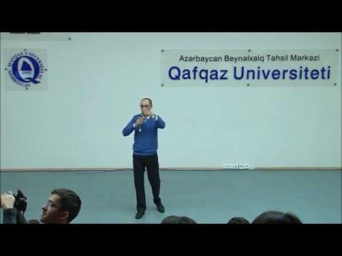 Rəşad Bayramov - Fərdi məsuliyyət. Qafqaz Universiteti, Gələcəyini Qur Layihəsi