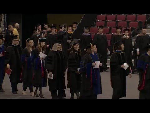 UNL December 2015 Graduate Commencement