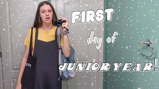 GRWM first day of junior year | high school advice 2018
