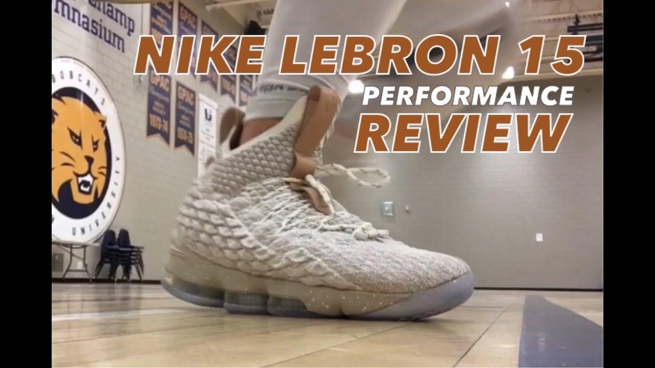 0a7aeadfdecda Nike Lebron 15 Performance Test and Full Review - YouTube