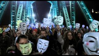 Anonymous Plot Bonfire Night Million Mask March