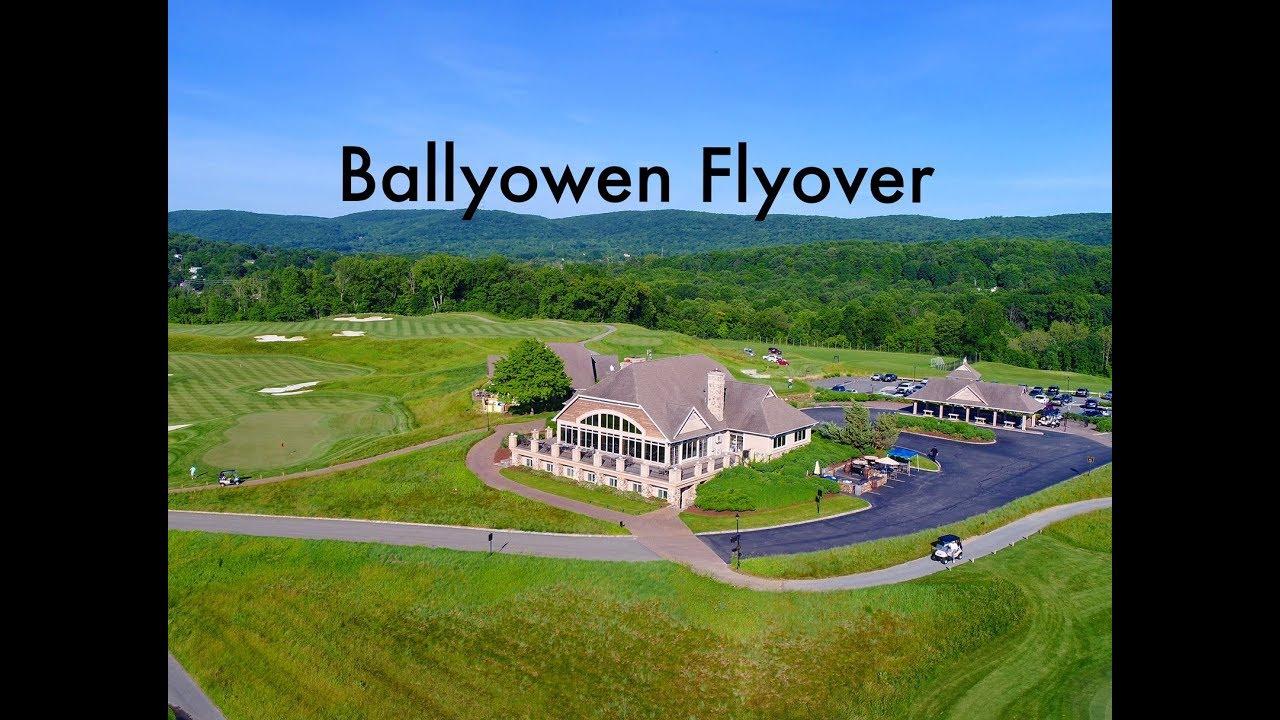 ballyowen golf club 18 hole flyover youtube. Black Bedroom Furniture Sets. Home Design Ideas