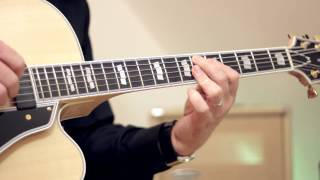 Mark Campellone Deluxe via Rivera Suprema Jazz 1x15 / Guitar: Emanuel Schmidt