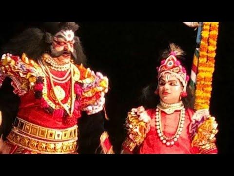 Yakshagana Mandarthi Kshetra Mahatme - 23 - ನರಾಡಿ ಭೋಜರಾಜ್ ಶೆಟ್ಟಿ as ಮಹಿಷಾಕ್ಯ