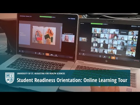 Student Readiness Orientation: Online Learning Tour Video