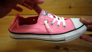 Converse All Stars Shoreline Slip Shoes Neon Pink