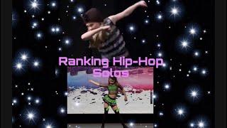 Ranking Hip Hop Solos    Dazzle ALDC