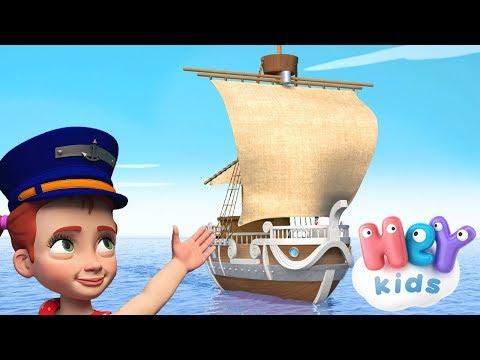 HeyKids – Maman Les Petit Bateaux – Chanson pour enfants avec karaoke