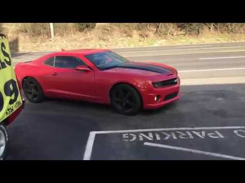 2012 chevy camaro ss dual exhaust w x pipe straight pipes